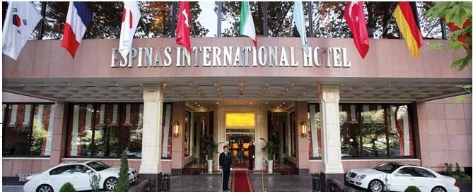 Espinas Hotel - Tehran - Facade.jpg
