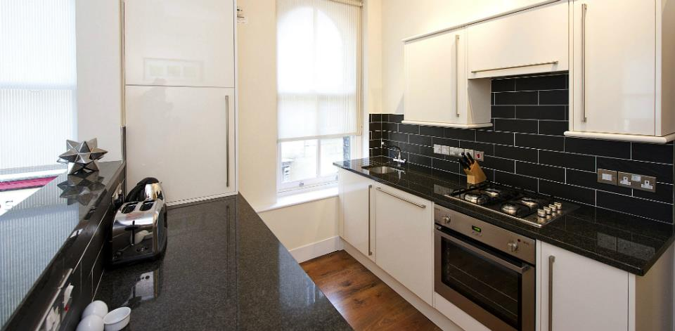 Spitalfields Serviced Apartments - Kitchen