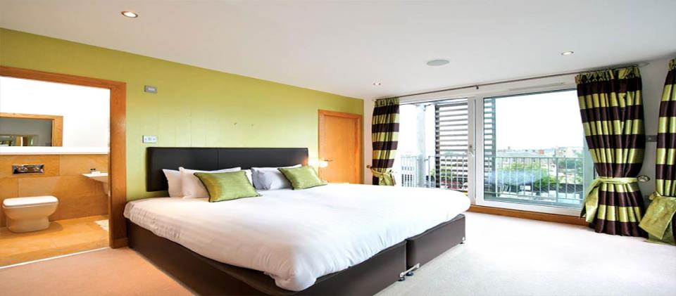 Leamington Wharf Bedroom