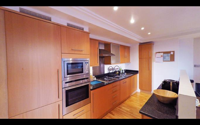 Ferry Quays Apartments Kitchen