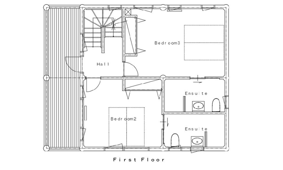 Koho Floor Plans - First Floor