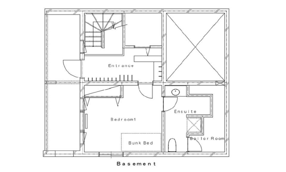 Koho Floor Plans - Basement updated
