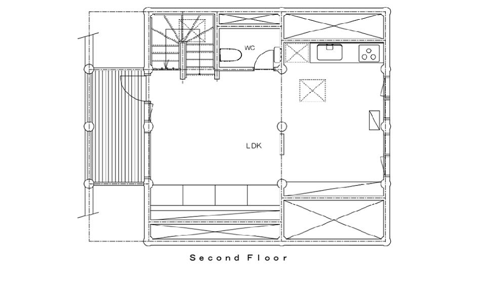 Koho Floor Plans - Second Floor