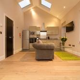 Harrogate Serviced Apartments - One Bedroom Apartment Kitchen