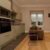 Harrogate Serviced Apartments - Studio Kitchen