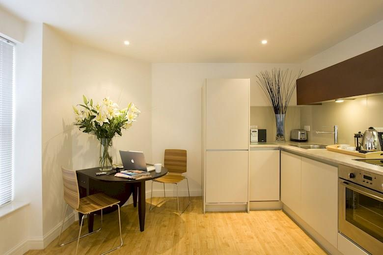 St James Parade - One Bedroom Open Plan Kitchen