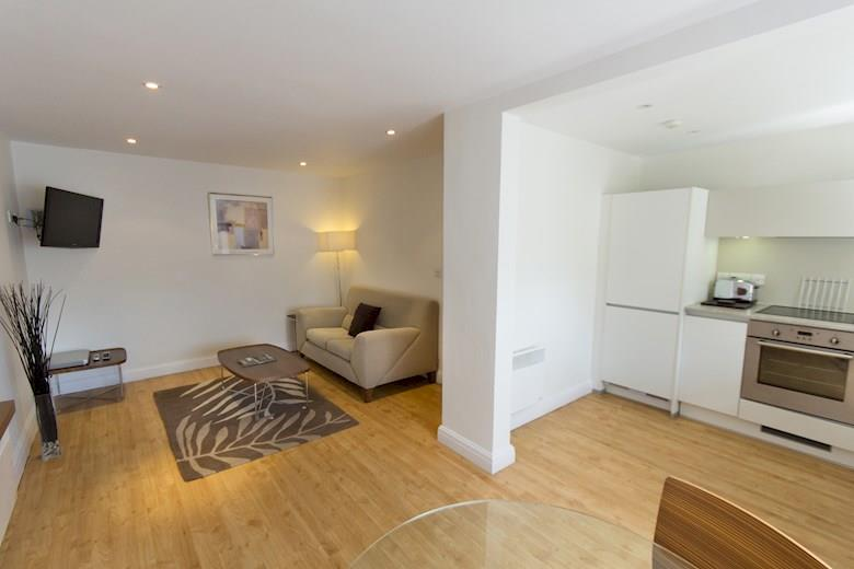 St James Parade - One Bedroom Superior Living Area