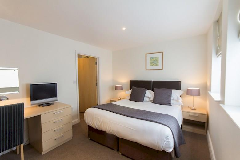 St James Parade - Two Bedroom Bedroom Area