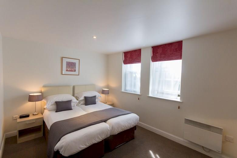 St James Parade - Two Bedroom Bedroom
