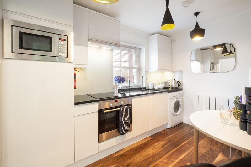 One Bedroom Apartment Marylebone Central - Kitchen
