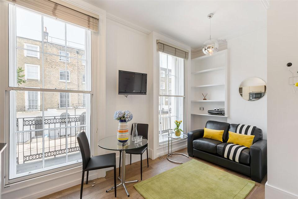 One Bedroom Apartment Marylebone Regents Park - Livingroom