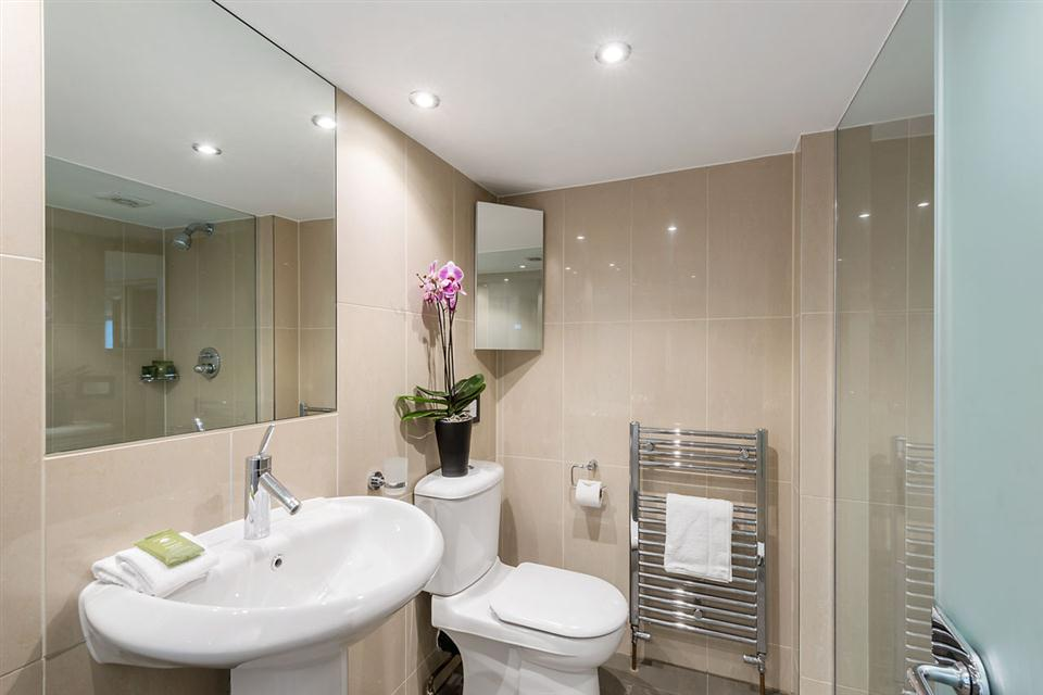 One Bedroom Apartment Marylebone Regents Park - Showerroom