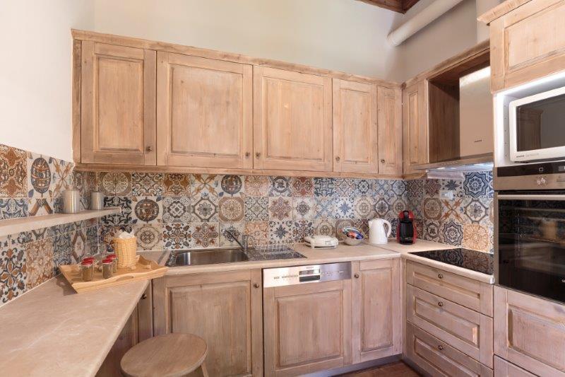 Lindos Aqua Luxury Villa - Ira Kitchen