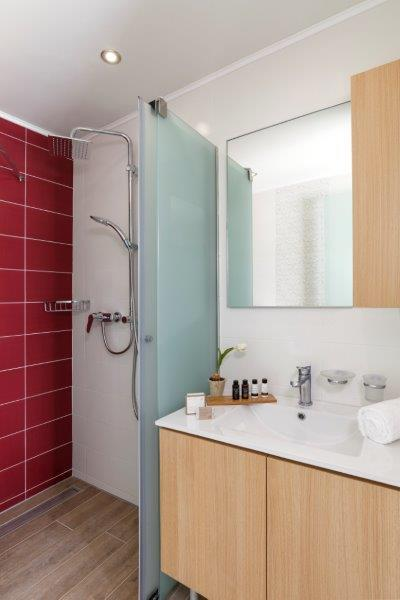 Lindos Aqua Luxury Villa - Shower Room