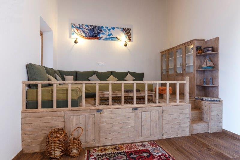 Lindos Aqua Luxury Villa - Zeus Sala Living Area