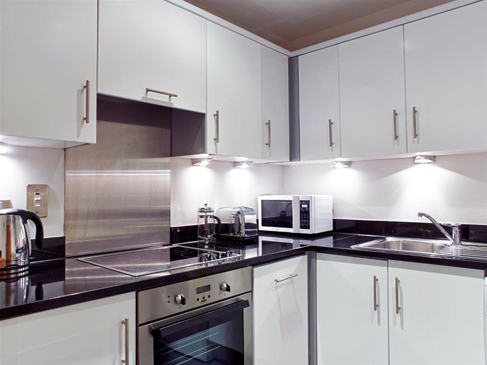 CHC One Bedroom Kitchen