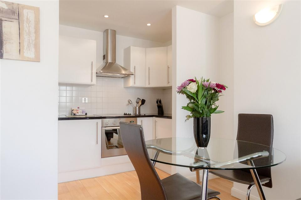 Groveland Court Apartments London City-Dining kitchen