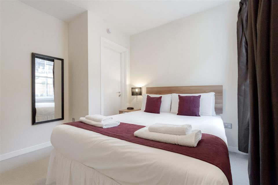 Sterling House Apartments London City-Bedroom