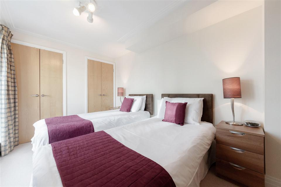 River House Apartments London City-Bedroom