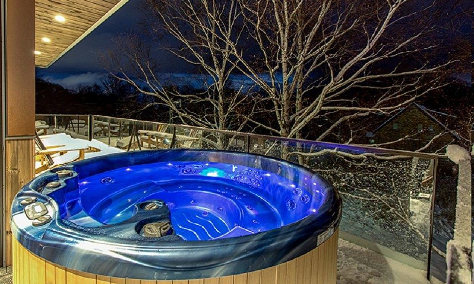Niseko Accommodation Gustav Jacuzzi