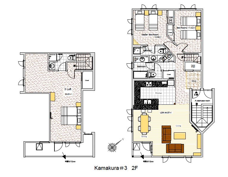 #floorplans Kamakura 3 bedroom room 3