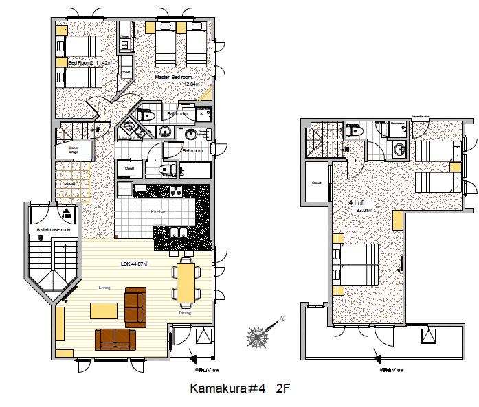 #floorplans Kamakura 3bedroom room 4
