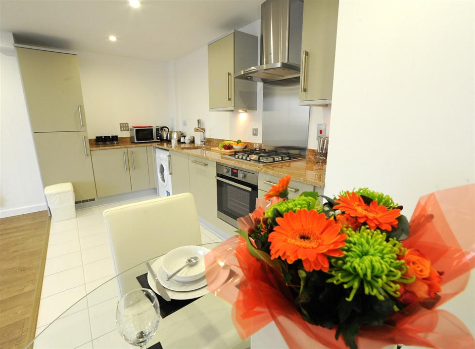 Premier Apartments London Kitchen