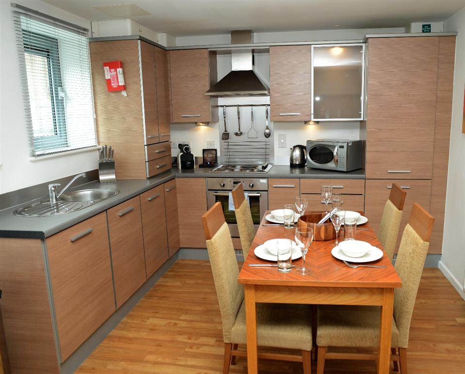 Nice Premier Apartments Newcastle Kitchen And Dining Area