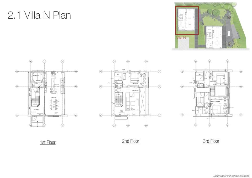 #floorplans 4 Bedroom Villa North Apartment