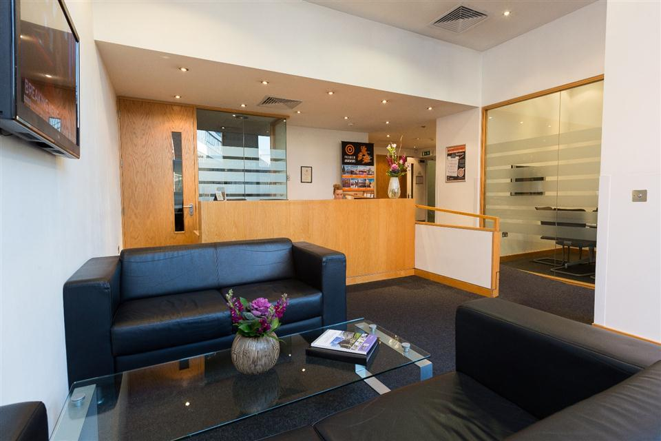 Premier Apartments Manchester Reception