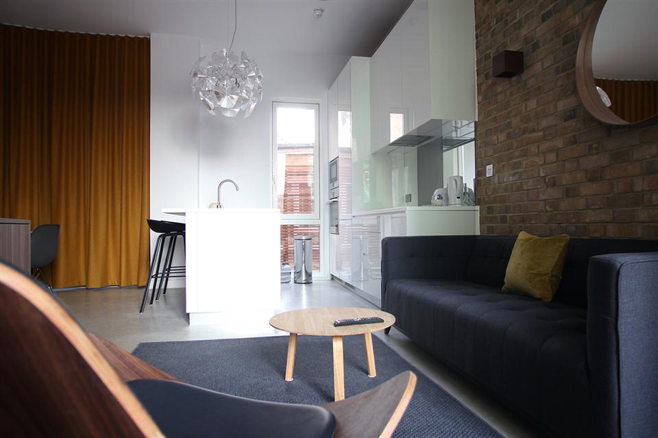 Hop Art Apartments-Lounge Kitchen