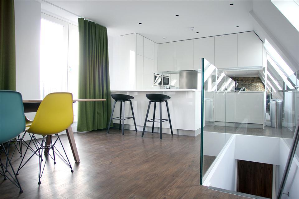 Hop Art Apartments-Dining Kitchen