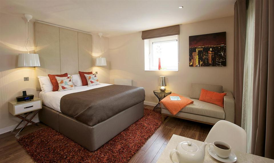 Canary Wharf Bedroom 2
