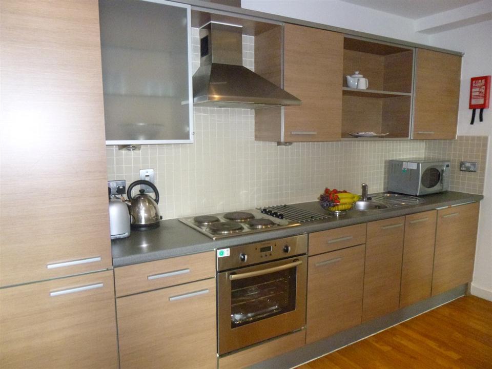 Premier Apartments Kitchen