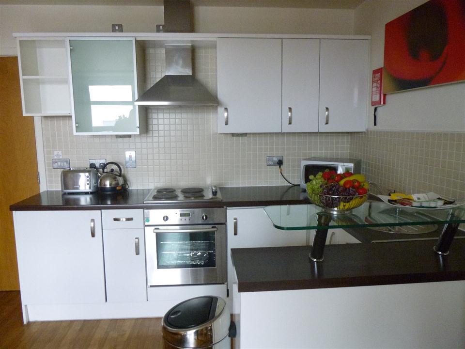 Premier Apartments Kitchen 2
