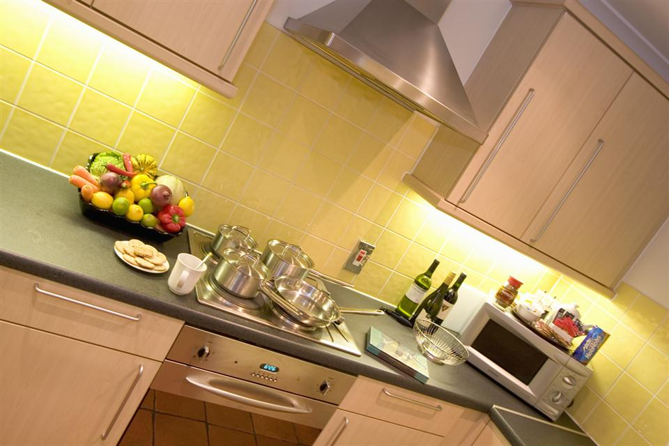 Premier Apartments Bristol Redcliffe Kitchen