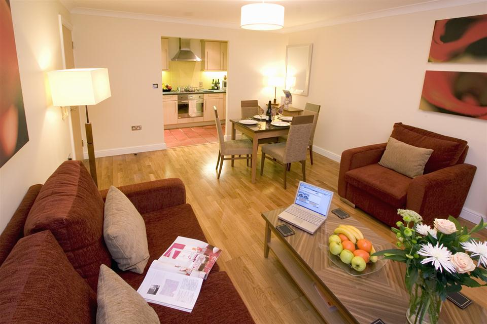 Premier Apartments Bristol Redcliffe Lounge