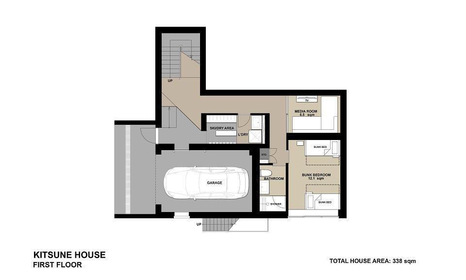 #floorplans Kitsune House 1F