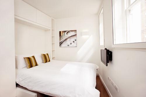 City Apartments Bedroom