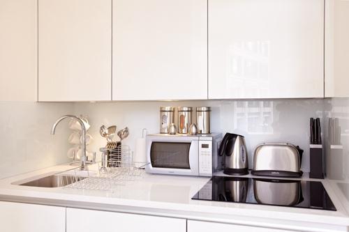 City Apartments Kitchen 2