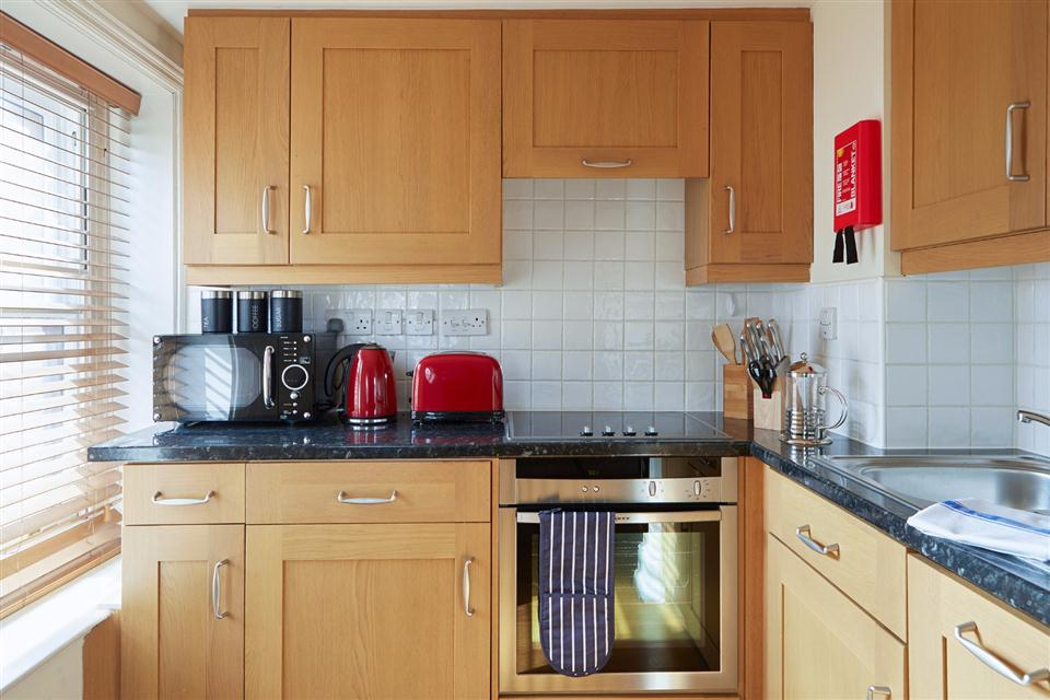 Leicester Square One Bedroom Kitchen