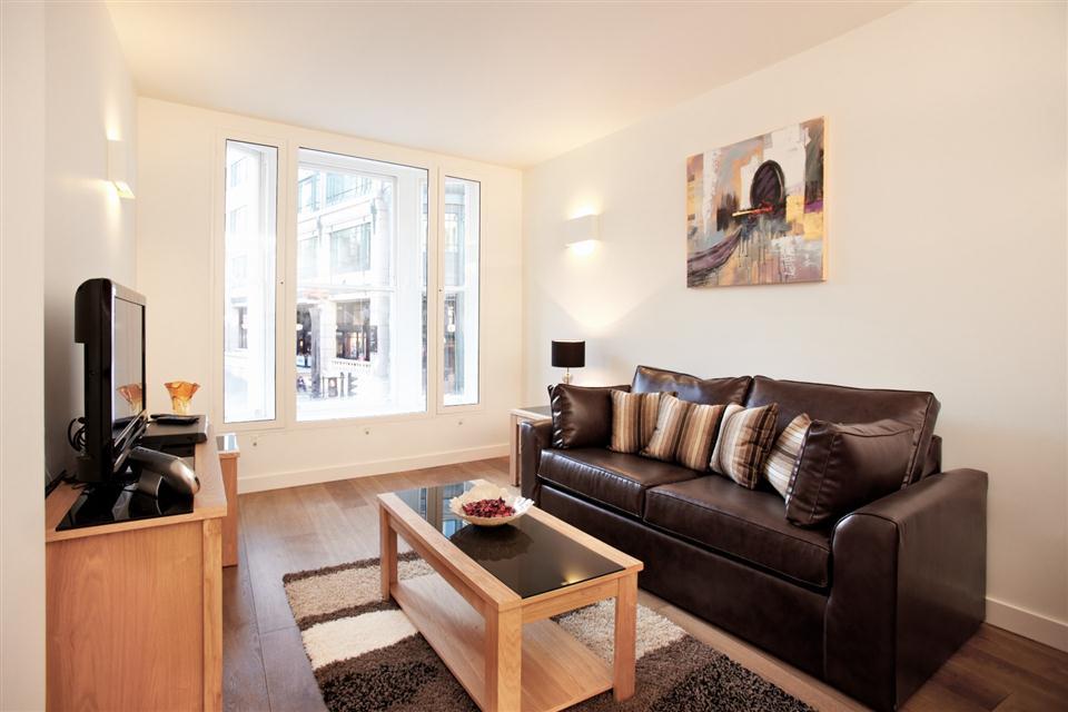 City Apartment Living Area