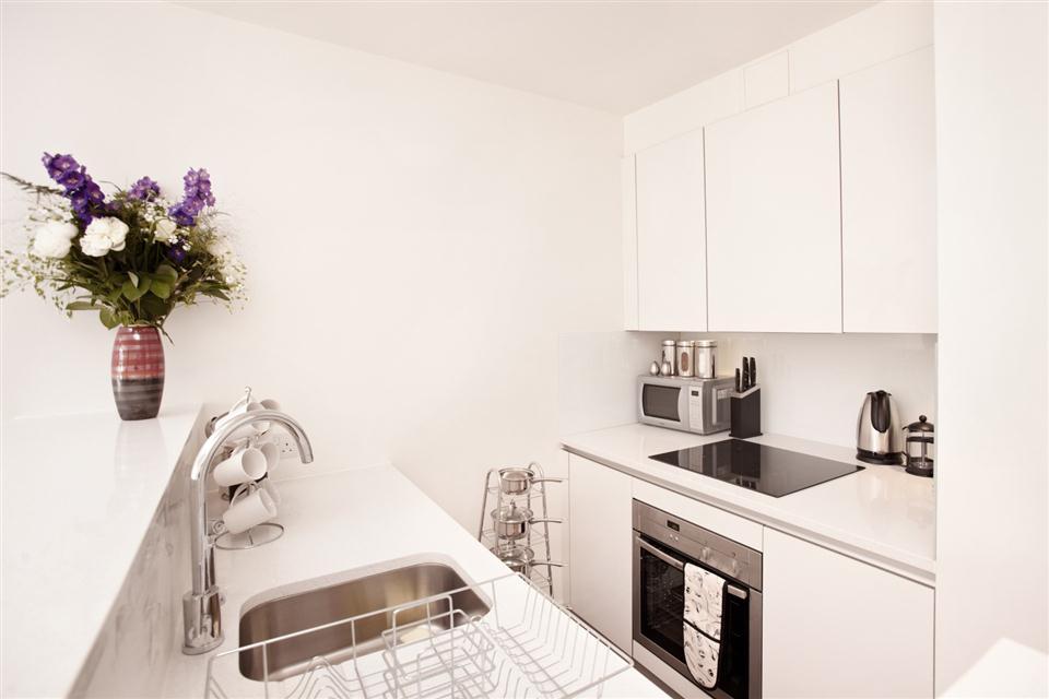 City Apartment Kitchen