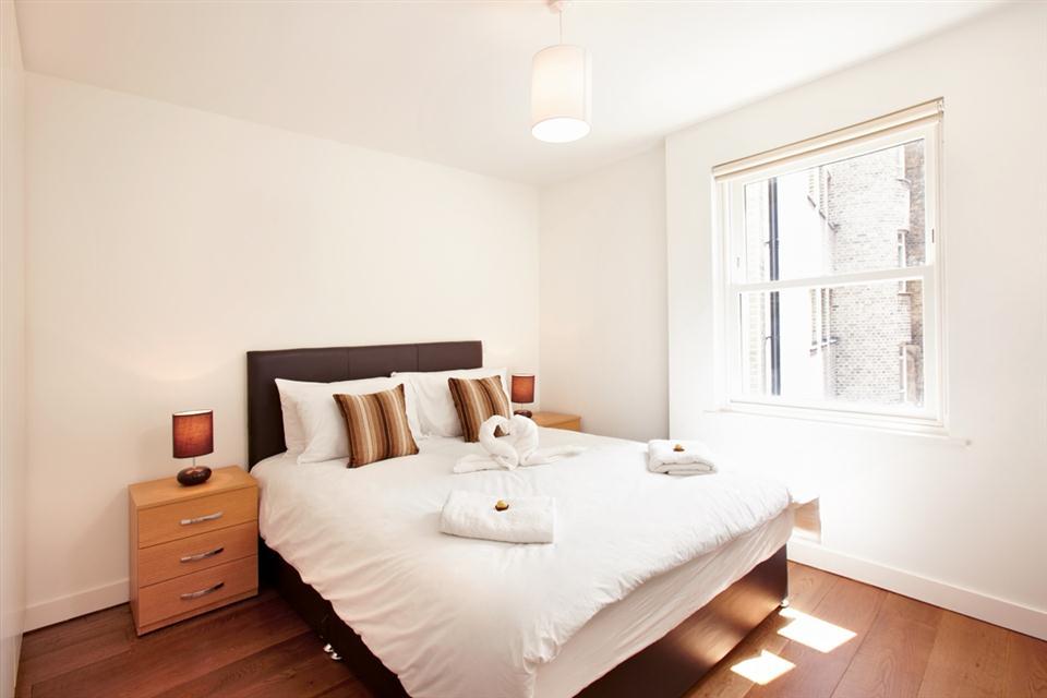 City Apartment Bedroom