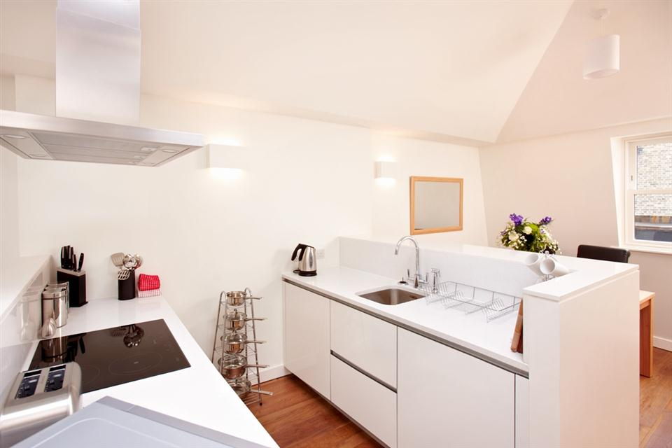 City Apartment Kitchen