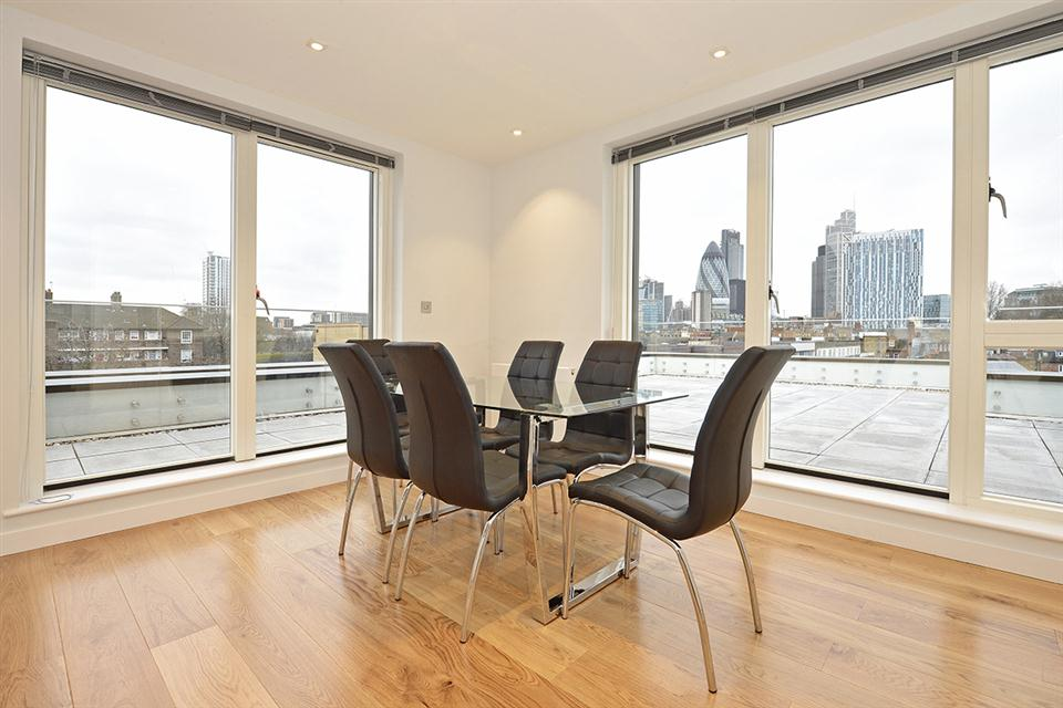 Spitalfields Apartment Dining Area