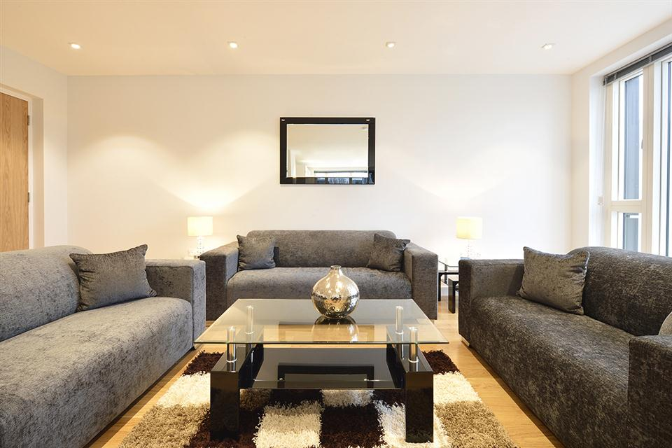 Spitalfields Apartment Living Area