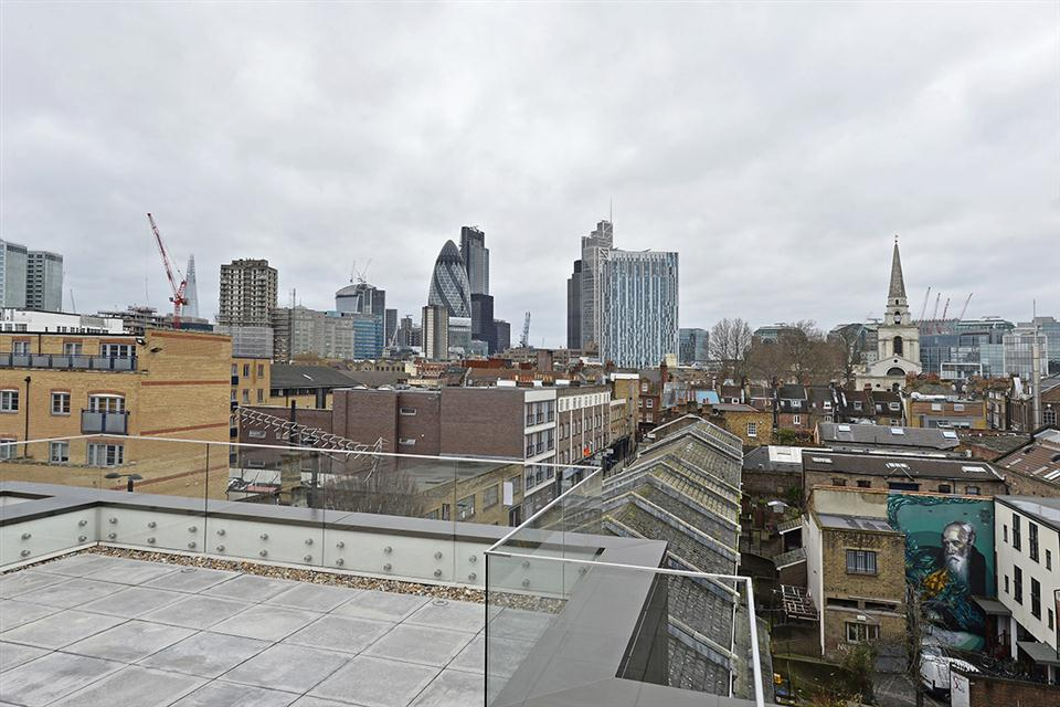 Spitalfields Apartment Roof Terrace