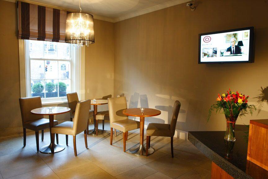 Premier Suites Dublin Leeson Street Dining Area