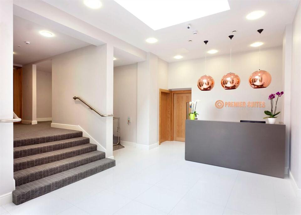 Premier Suites Dublin Ballsbridge Reception